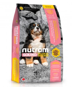S3 Nutram Sound Large Breed Natural Puppy Food 13.6 Kg