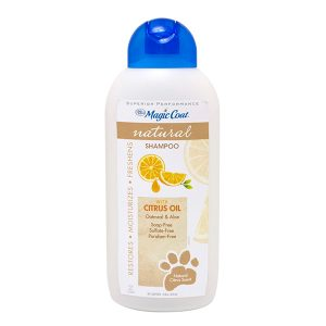 Citrus Oil y Avena Naranja Marron – Shampoo Natural – Four Paws – Magic Coat