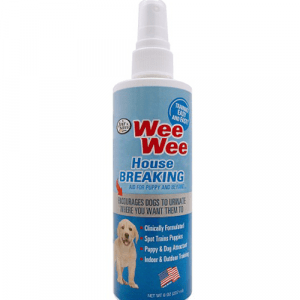 Atrayente WeeWee House Breaking Spray adiestrador para cachorros