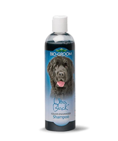 Shampoo biogroom para pelajes negros ultrablack