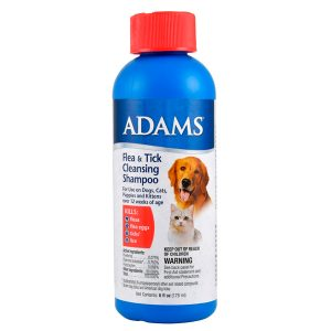 ADAMS F&T CLEANSING SHAMPOO 12 OZ – Adams