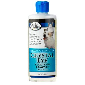 CRYSTAL EYE TEAR STAIN REMOVER 4 OZ – Four Paws