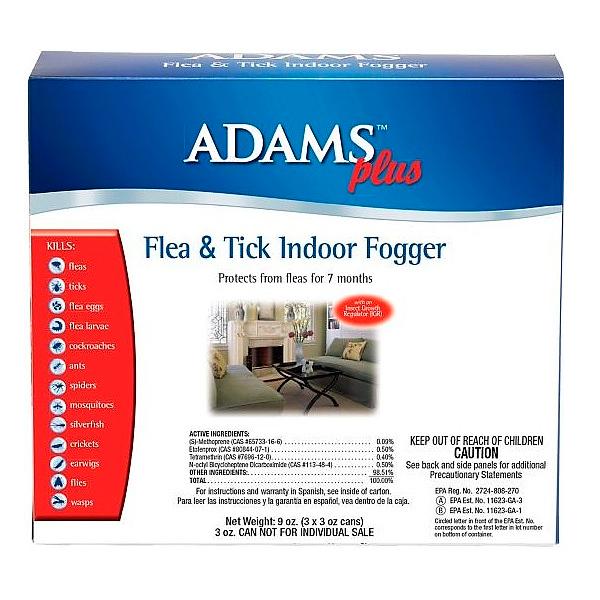 FOGER PLUS FLEA & TICK INDOOR 3 OZ - 1