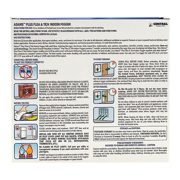 FOGER PLUS FLEA & TICK INDOOR 3 OZ - 2