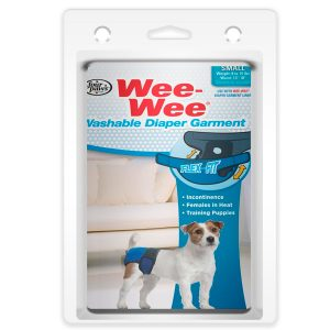WASHABLE DIAPER GARMENT SMALL – WEE-WEE FOUR PAWS