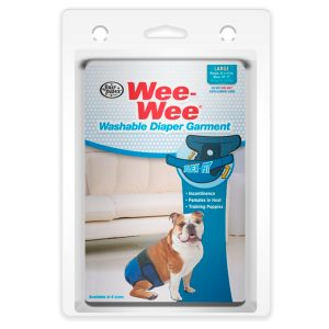 WASHABLE DIAPER GARMENT LARGE – WEE-WEE FOUR PAWS