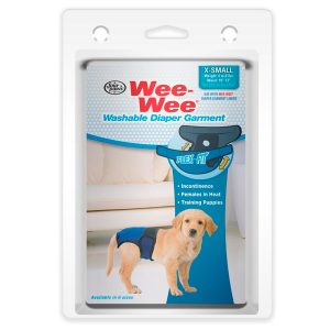 WASHABLE DIAPER GARMENT XS – WEE-WEE -FOUR PAWS
