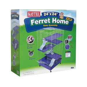 KAYTEE MULTI LEV FERRET WITH CASTER 24X24