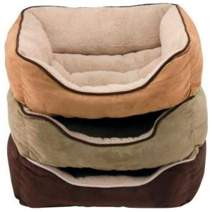 BED BOX FAUX SUEDE 25 IN – DALLAC DMC