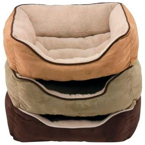 BED BOX FAUX SUEDE 25IN