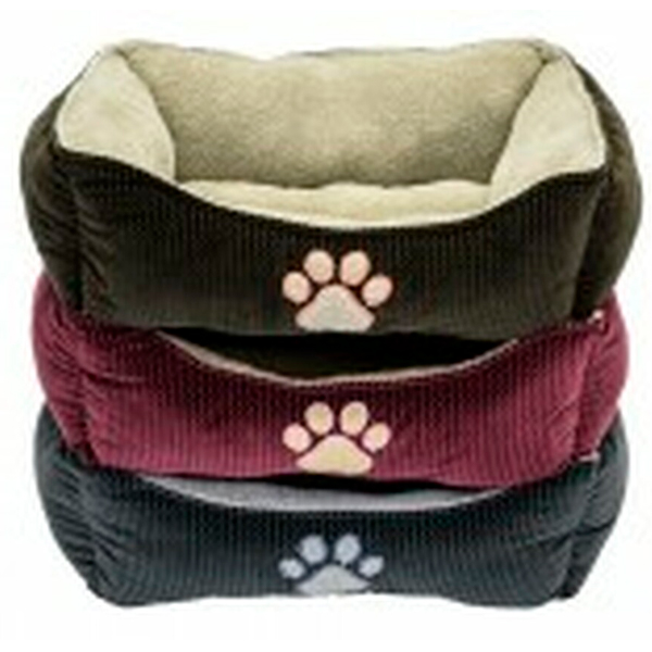 BED BOX WITH PAW PRINT 25IN