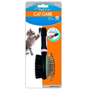 ULTIMATE TOUCH CAT COMBO BRUSH – Four Paws