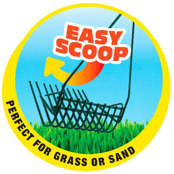 WIRE RAKE SCOOPER FOR GRASS - 3