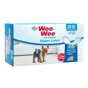 DISPOSABLE DIAPER LINERS 24PK WEE-WEE – FOUR PAWS