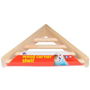 CAGE BED SHELF WOOD CORNER – PREVUE