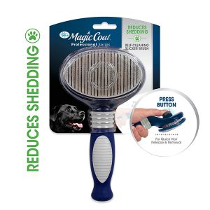 FOUR PAWS MAGIC COAT SELF CLEANING SLICKER BRUSH