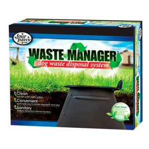 FOUR PAWS WASTE MANAGER DOG WASTE DISP