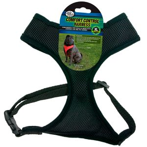 COMFORT CONTROL HARNESS BLACK XL – FOUR PAWS