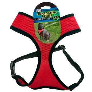 COMFORT CONTROL HARNESS RED XL – FOUR PAWS